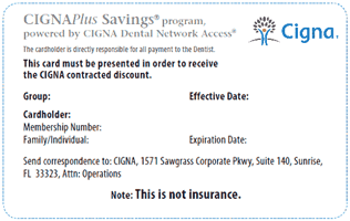 Cignaplus Savings